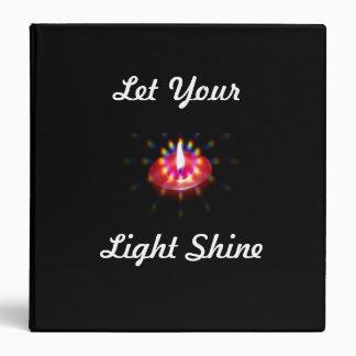Let Your Light Shine binder