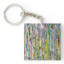 Let Your Light Shine Down Keychain