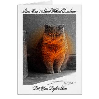 Let Your Light Shine Encouragement Card