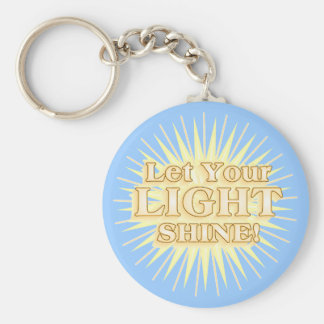 Let Your LIGHT shine KEYCHAIN