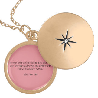 Let Your Light Shine Locket