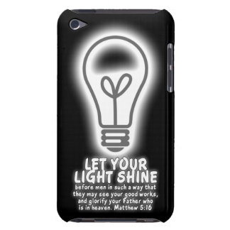 Let Your Light Shine Matthew 5:16 Bible Verse Barely There iPod Cover