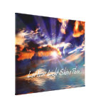Let Your Light Shine Thru Art  Wrapped Canvas Stretched Canvas Print