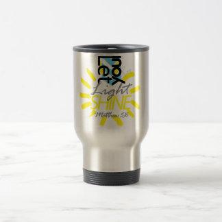 Let Your Light Shine Travel Mug