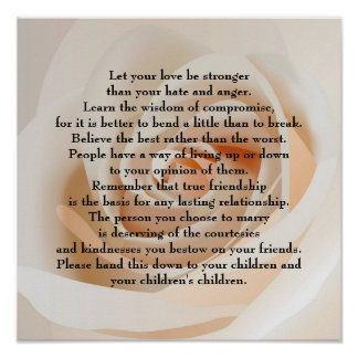 Let your love be stronger print