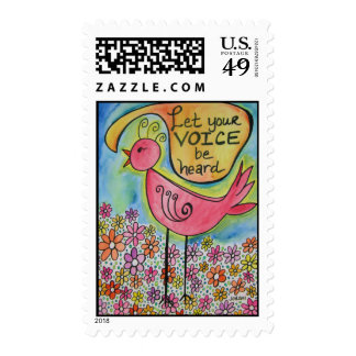 Let Your Voice Be Heard Postage
