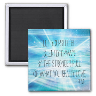 Let Yourself Be Drawn 2 Inch Square Magnet
