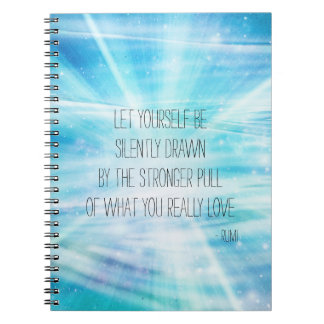 Let Yourself Be Drawn Notebook