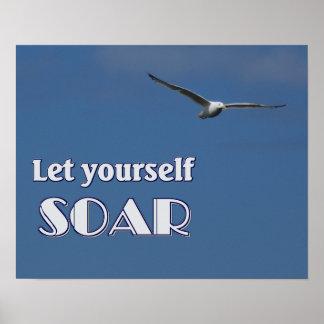 Let Yourself Soar Poster