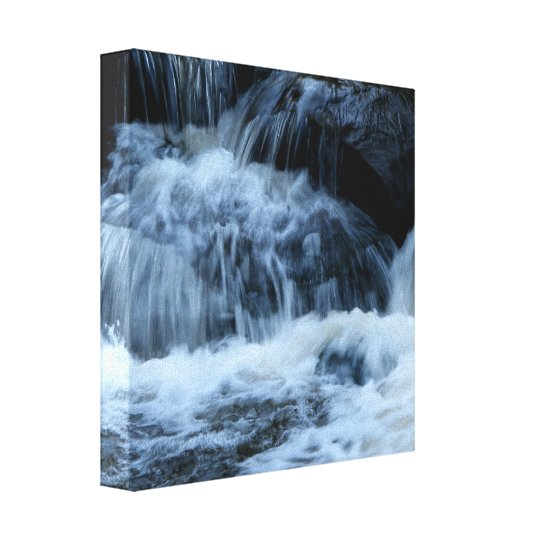 Letchworth State Park-Genesee River Wrapped Canvas
