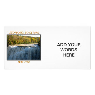 Letchworth State Park - Middle Falls Card
