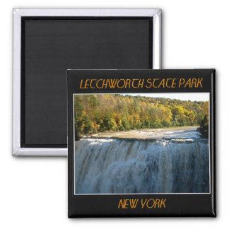 Letchworth State Park - Middle Falls Refrigerator Magnet