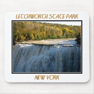 Letchworth State Park - Middle Falls Mouse Pad
