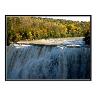 Letchworth State Park - Middle Falls Postcard