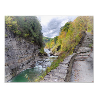 Letchworth State Park Print Photographic Print