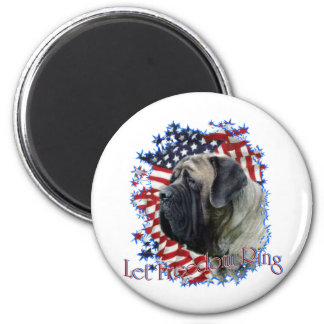 LetFreedomRing 2 Inch Round Magnet