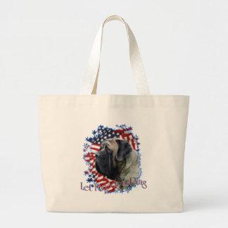 LetFreedomRing Large Tote Bag
