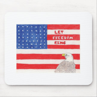 LetFreedomRing Mouse Mat