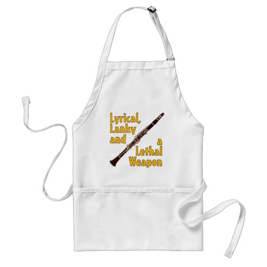 Lethal Clarinet Adult Apron