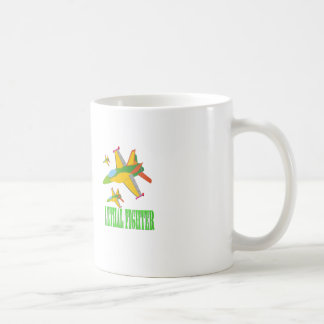 Lethal fighter coffee mug