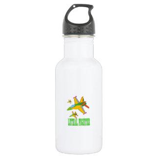 Lethal fighter water bottle