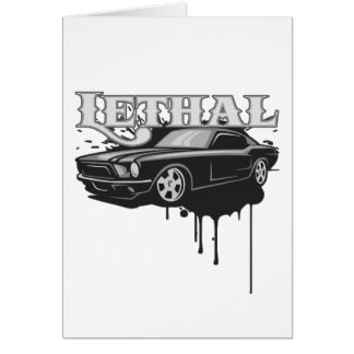 Lethal Muscle Car Card