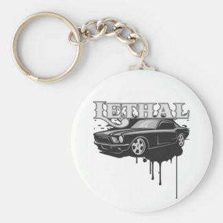 Lethal Muscle Car Keychain