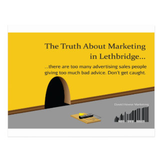 Lethbridge Marketing and Advertising Postcard