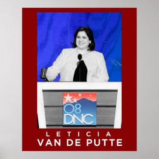 Leticia Van De Putte Posters