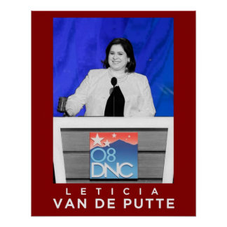 Leticia Van De Putte Poster