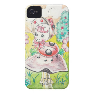 Letitia Ladybug iPhone 4 Cover