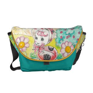 Letitia Ladybug Messenger Bag