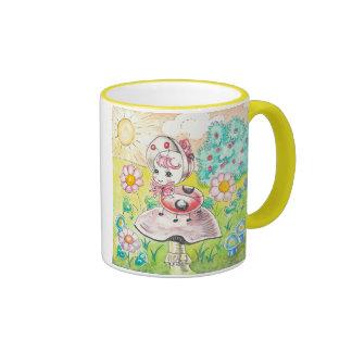 Letitia Ladybug Coffee Mug