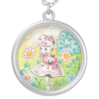 Letitia Ladybug Necklace