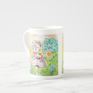 Letitia Ladybug Porcelain Mugs