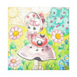 Letitia Ladybug Stretched Canvas Print