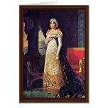 Letizia Bonaparte In Court Dress By Lefèvre Robert Cards