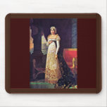 Letizia Bonaparte In Court Dress By Lefèvre Robert Mousepad