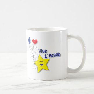 l'étoile acadienne coffee mug