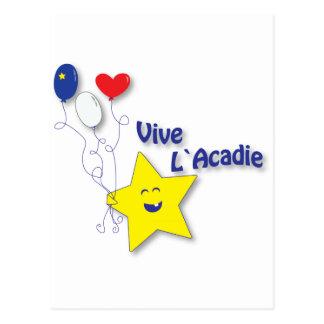l'étoile acadienne postcard