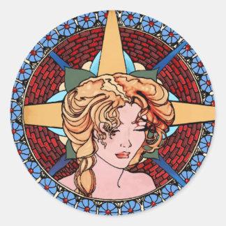L'Etoile Classic Round Sticker