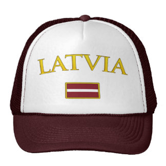 Letonia de oro gorra