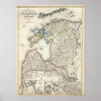 Letonia, Estonia Impresiones