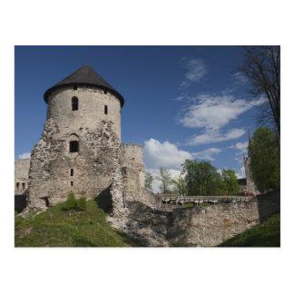 Letonia, Letonia del noreste, región de Vidzeme, 3 Tarjetas Postales