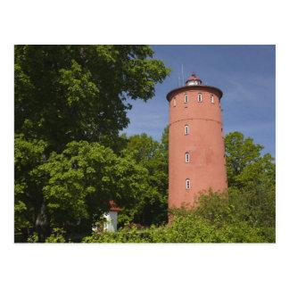 Letonia, Letonia occidental, región de Kurzeme, Postal
