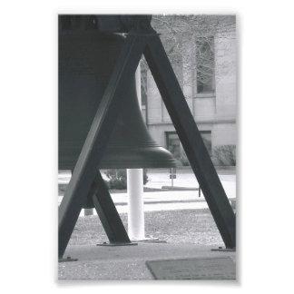 Letra A1 de la foto del alfabeto blanco y negro