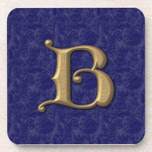 Letra antigua B (3) Posavaso