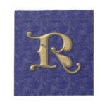 Letra antigua R (3) Bloc De Notas