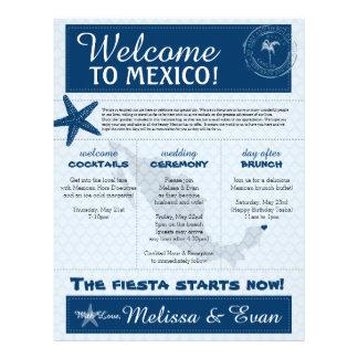 Letra azul Cancun México de la recepción de las Plantillas De Membrete