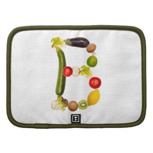 """letra """"B"""" de frutas y verduras Planificadores"""